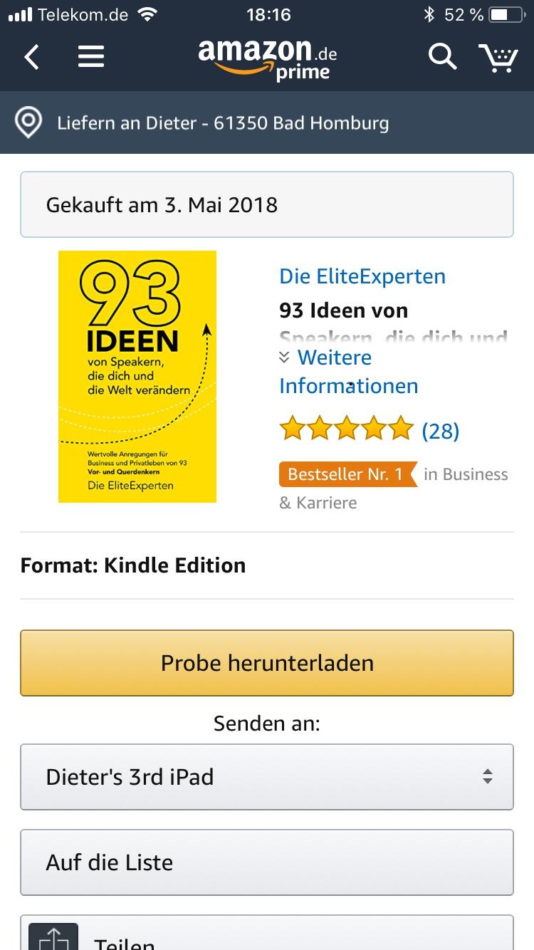 Bestseller 93 Ideen