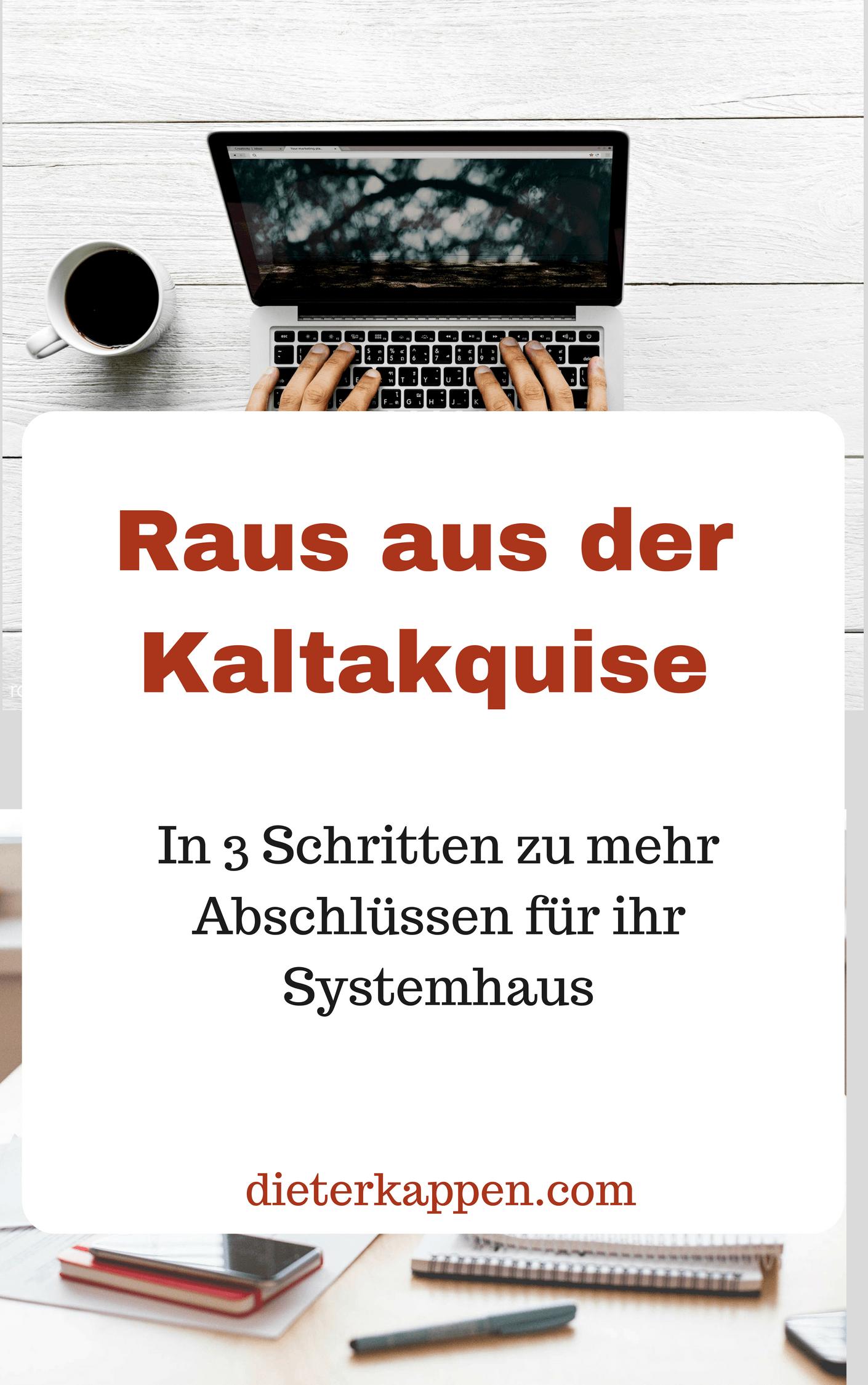 Dieter Kappen ebook Kaltakquise